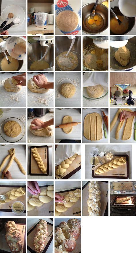 Receta 10: Trenza de pan dulce griego | Cocina de Franchesca