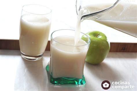 Receta Agua de avena con manzana | CyC