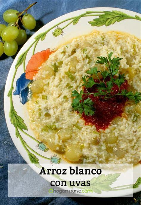 Receta de Arroz blanco con uvas - Karlos Arguiñano