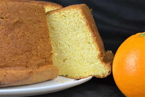 Receta de bizcocho esponjoso de naranja