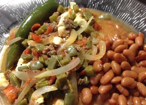 Receta de carne molida con nopales | Recetas Mexicanas