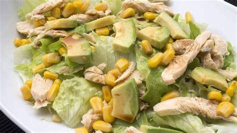 Receta de Ensalada de aguacate y pollo - Karlos Arguiñano