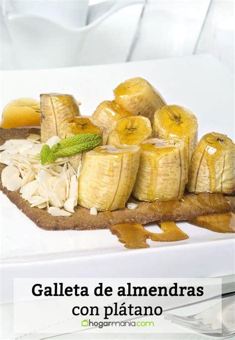 Receta de Galleta de almendras con plátano - Ramón Roteta