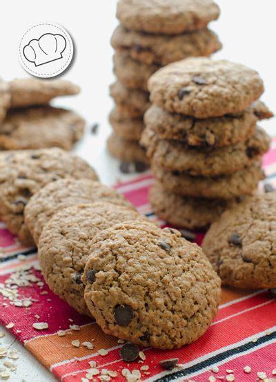 receta de galletas caseras de avena y chocolate en pepitas ...