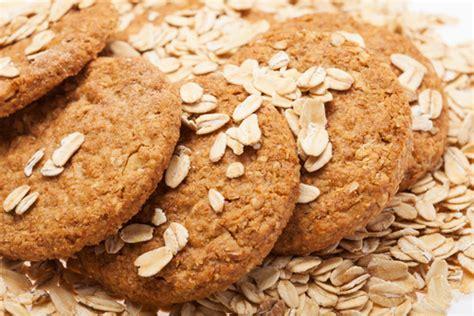 Receta de galletas de avena sin mantequilla   Unareceta.com