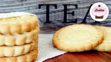 Receta de galletas de mantequilla caseras, Receta fácil ...