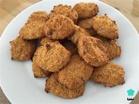 Receta de Galletas paleo de coco - ¡Muy fáciles y rápidas!