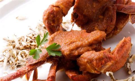 Receta de Nécoras en salsa con arroz frito - Karlos Arguiñano