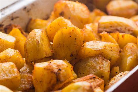 Receta de Patatas asadas con miel
