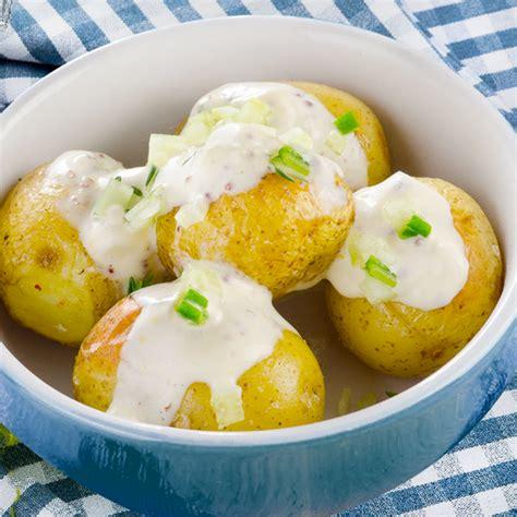 Receta de Patatas asadas en el microondas   Divina Cocina