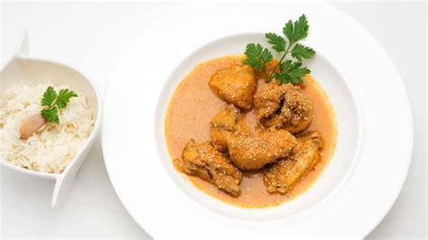 Receta de Pollo al curry con arroz blanco - Karlos Arguiñano