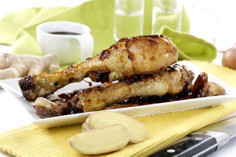 Receta de Pollo con soja y jengibre • Gurmé