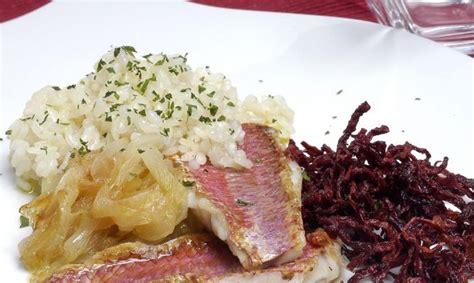 Receta de Salmonetes con arroz - Eva Arguiñano