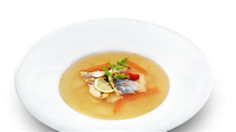 Receta de Sopa de pescado blanco • Gurmé