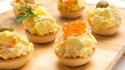 Receta de Tartaletas de ensaladilla rusa   Karlos Arguiñano
