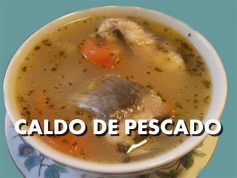 Receta para preparar caldo de camarón. Receta de caldo ...