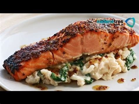 Receta para preparar salmón crujiente. Receta de salmón ...