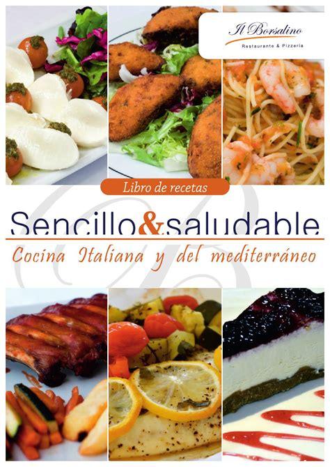 Recetario Il Borsalino, comida sencilla y saludables ...