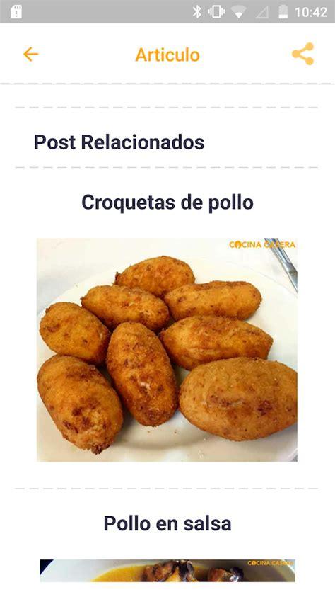 Recetas de Cocina Casera   Android Apps on Google Play