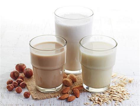 Recetas de leche vegetal para niños