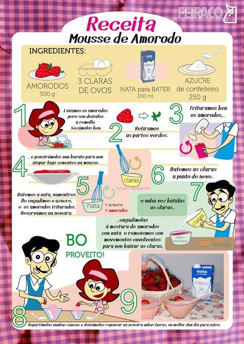 Recetas infantiles: mousse de fresas | Feiraco