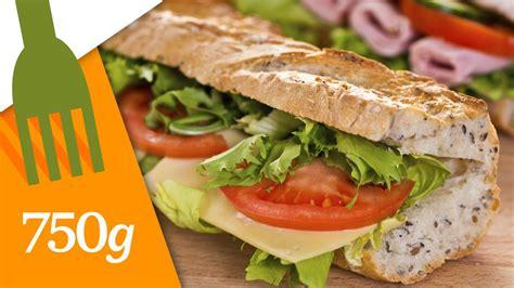 Recette du Sandwich aux crudités ou Sandwich Dagobert ...