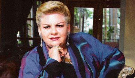 Rechaza Paquita la del Barrio tema que le compuso Espinoza Paz