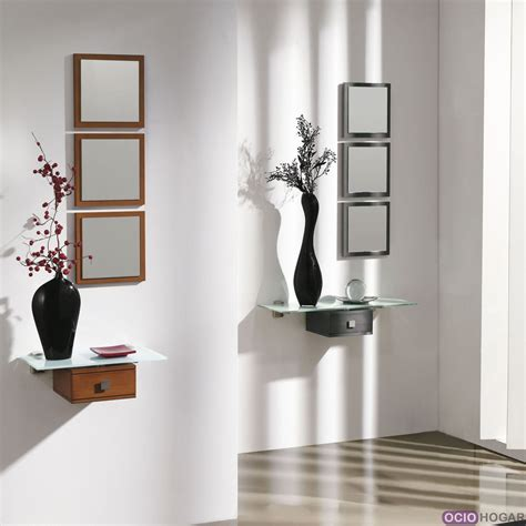 Recibidor AirCrystal, muebles que flotan en tu entrada ...