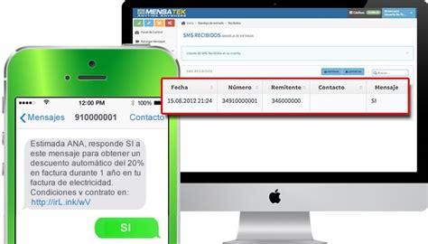 Recibir mensajes SMS en tu bandeja de entrada