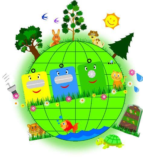 Reciclaje Cuidemos el Medio ambiente Imágenes Ilustraciones