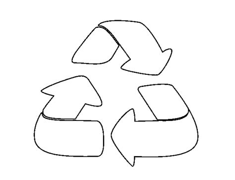 Reciclaje para colorear - Imagui