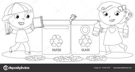 Reciclaje Para Colorear - oldschoolnewbodyreview.us