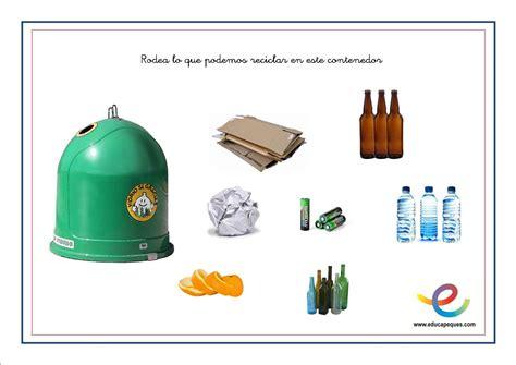 Reciclaje para niños. Actividades para enseñar a reciclar