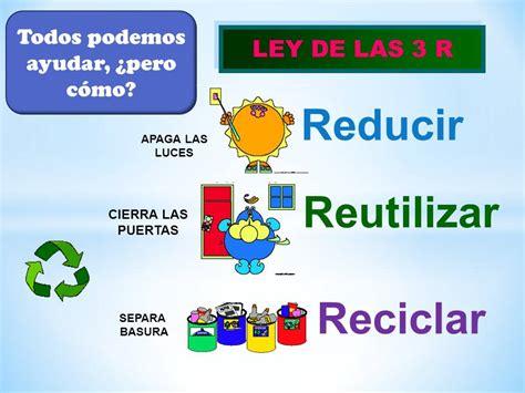 Reciclar, Reducir y Reutilizar   Sistema Departamental ...