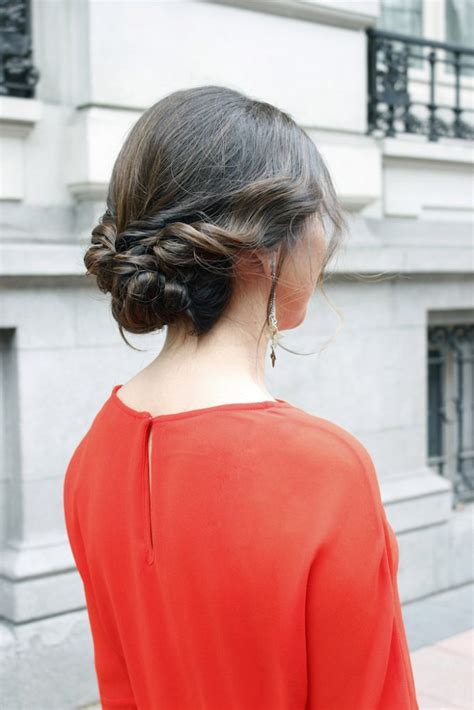 Recogido bajo: peinado 10 para invitada de boda | El blog ...