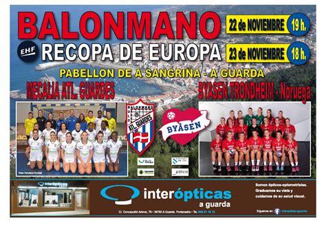 RECOPA DE EUROPA – 22 23 de Noviembre – Club Balonmán ...
