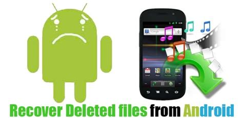 Recover Deleted Files on Android without Root Easily ...