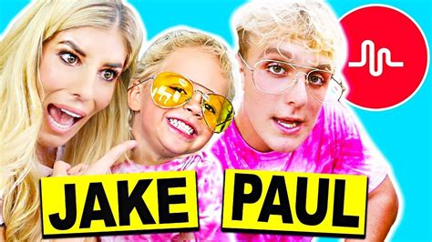 Recreating Jake Paul s Cringy Musical.lys with Mini Jake ...