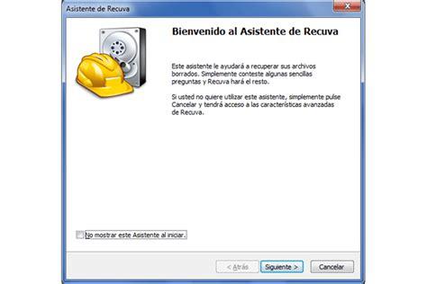 Recuperar archivos borrados por error de un disco, USB o SD