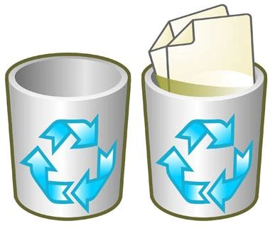 Recuperar papelera de reciclaje desaparecida