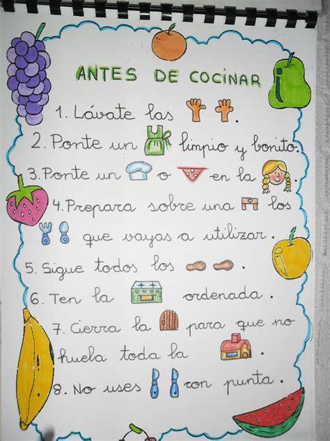 RECURSOS DE EDUCACIÓN INFANTIL: LIBRO DE RECETAS