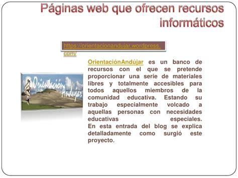 Recursos informáticos para educación especial
