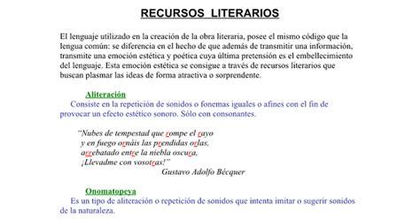 RECURSOS LITERARIOS.doc - Google Docs