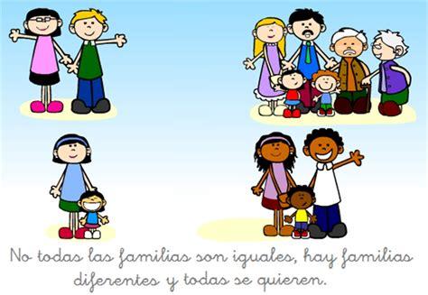 recursos para educación inicial: TIPOS DE FAMILIAS