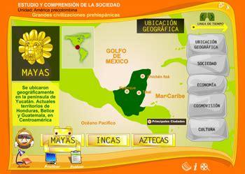 Recursos TIC para estudiar las culturas Incas, Mayas y ...