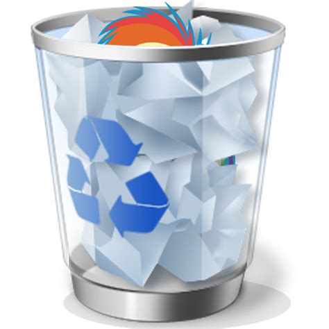 Recycle Bin (full) by Liggliluff on DeviantArt