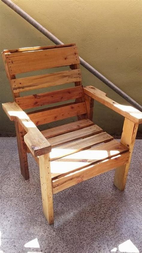 Recycled Wood Pallet Chair Ideas – Wood Pallet Ideas