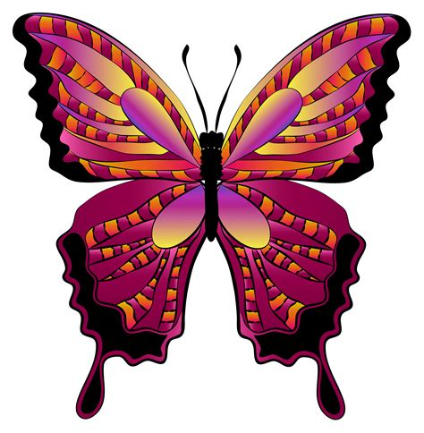 Red Butterfly Images   ClipArt Best