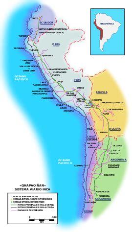 Red caminera del Tahuantinsuyo - Wikipedia, la ...