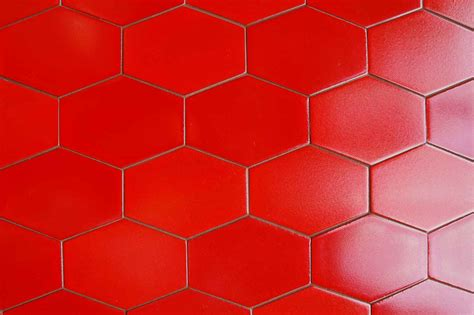 Red Floor Tiles Design images